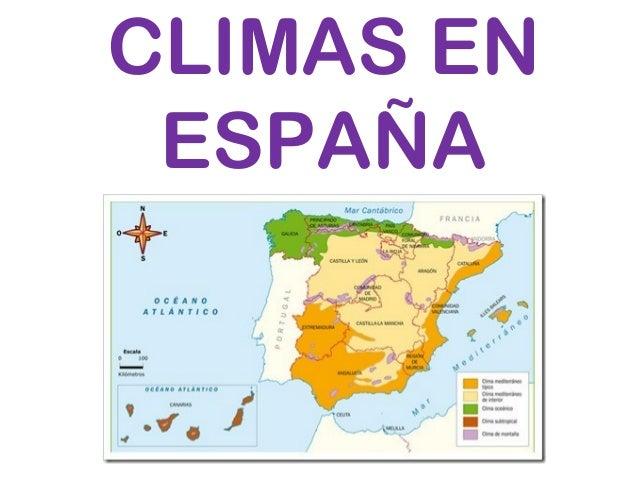 CLIMAS EN ESPAÑA