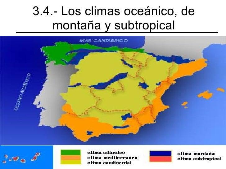Climas y r os de espa a for Clima mediterraneo de interior