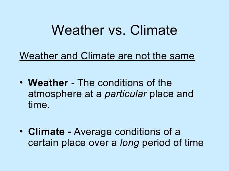 Climate Factors Ppt
