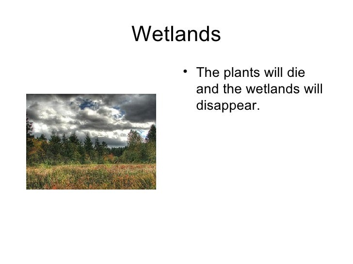 Climate  Impacts Slide 2