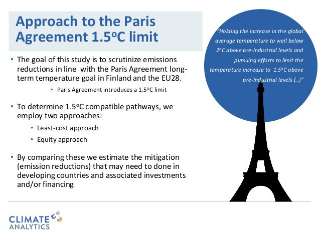 What Does The Paris Climate Agreement Mean For Finland And The Europe