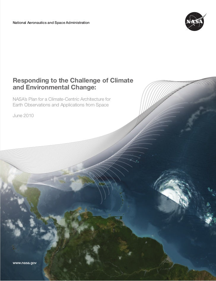 NASA CLIMATE-CENTRIC ARCHITECTURENational Aeronautics and Space Administration                                            ...