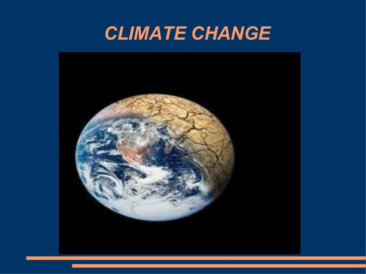 CLIMATE CHANGE Título