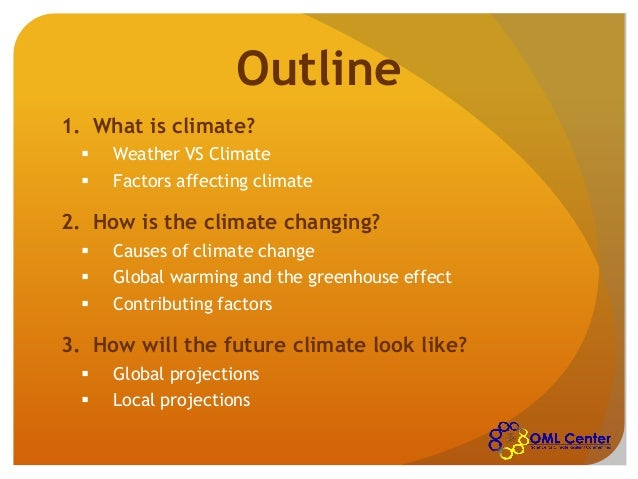 what causes the climate change