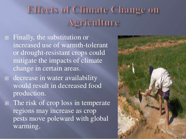 Climate Change and Agriculture by Muhammad Qasim & Aroj Bashir