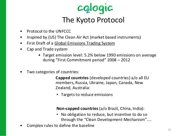 kyoto protocols effects for canadian business Canadian ratification of kyoto protocol poses new challenge to bush administration date december 10,  effects of climate change.