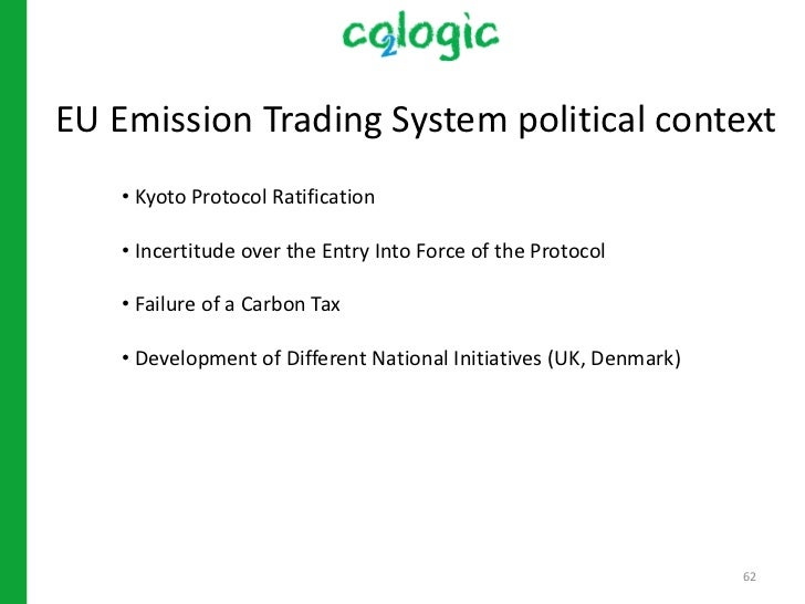 a history of the kyoto protocol