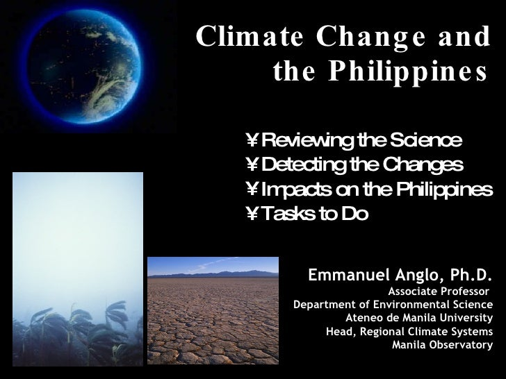 how to prevent climate change in the philippines