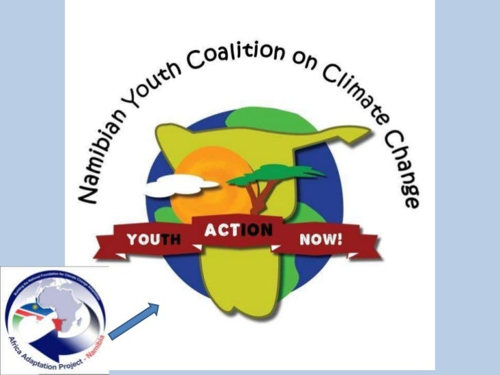 Youth mobilisation on climate change in Namibia Slide 2
