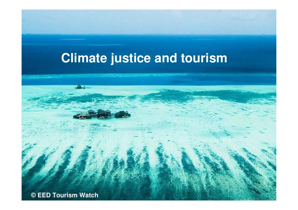 Climate justice and tourism     © EED Tourism Watch