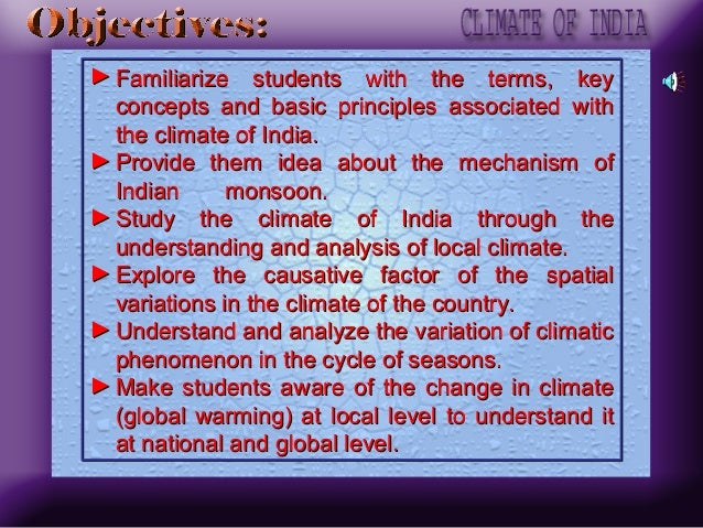 Climate of india Slide 3
