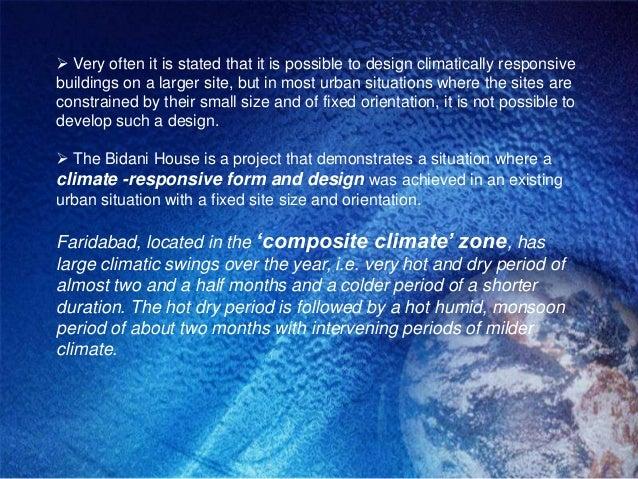 Climate Responsive Architecture