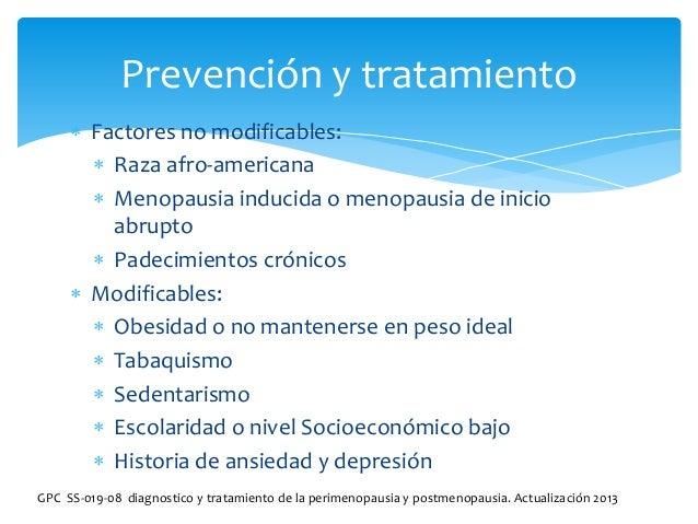 Climaterio diagnostico y tratamiento
