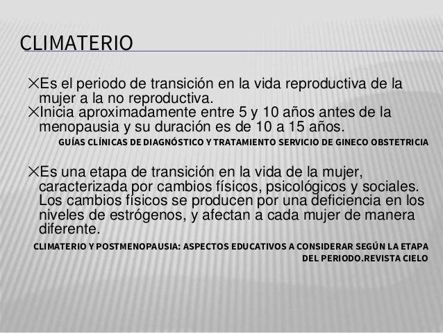 Climaterio y menopausia por alumnas de Obstetricia.pptx Slide 3
