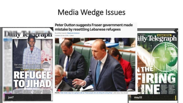 Media Wedge Issues