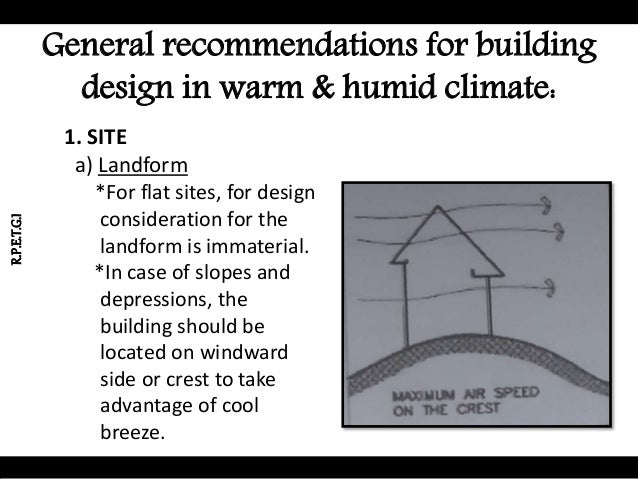 Warm and humid climate and their designs for Best house design hot climate