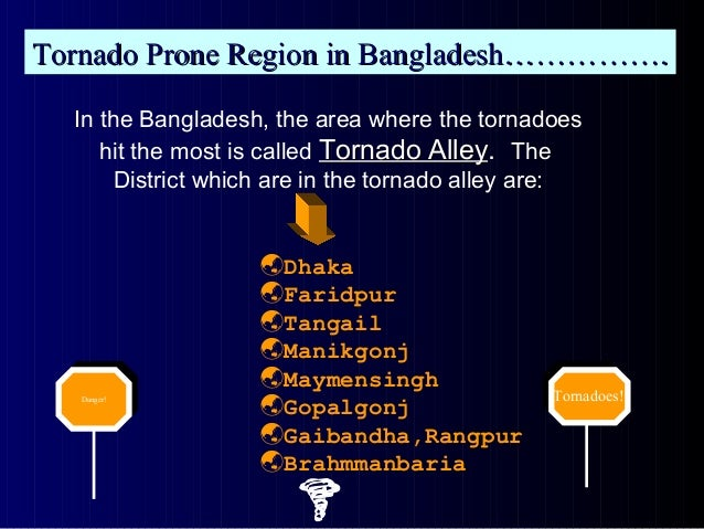 Climatic hazards of bangladeh