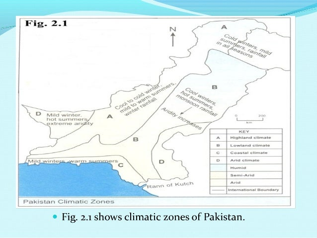 climate regions of pakistan Within a month of partition of india into india and pakistan in august 1947  of  jammu and kashmir comprises of three distinct climatic regions:.