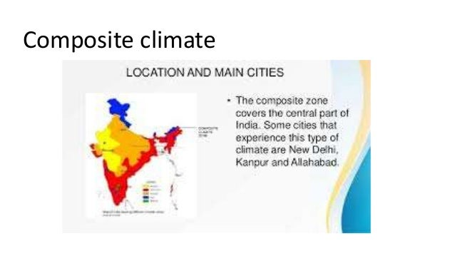 different types of climate in india