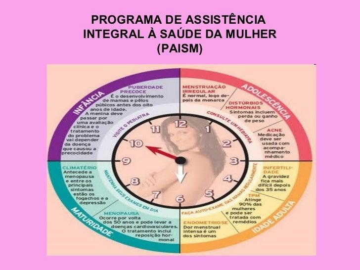 PROGRAMA DE ASSISTÊNCIAINTEGRAL À SAÚDE DA MULHER          (PAISM)