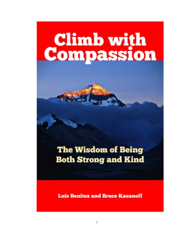 Climb with Compassion Slide 1