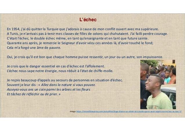 Image https://nouvelleexpress.com/actualites/togo-drame-un-eleve-se-suicide-apres-avoir-appris-son-echec-au-bac-1/ L'échec...