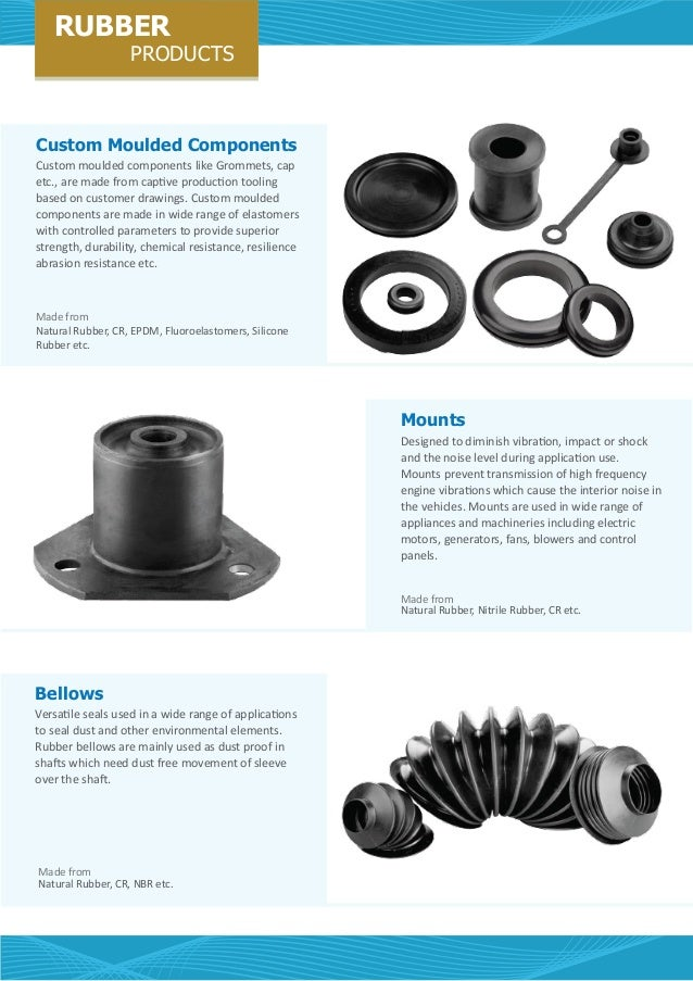Rubber Products By Cl Industrial Spares Manufacturing