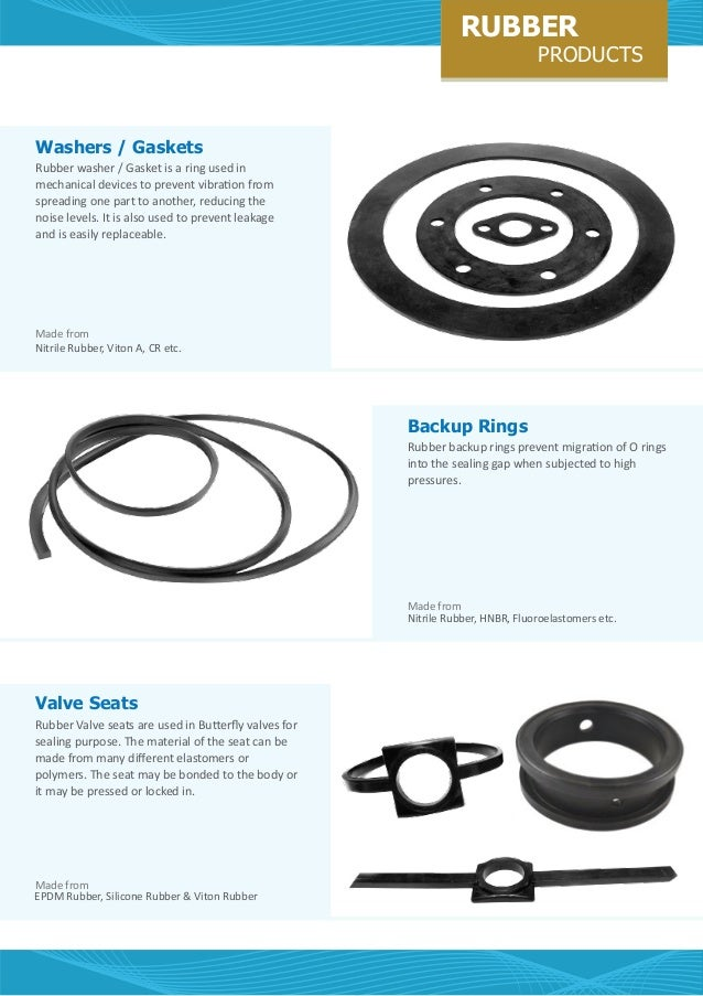 Rubber Products by Cl industrial spares-manufacturing-trading-company