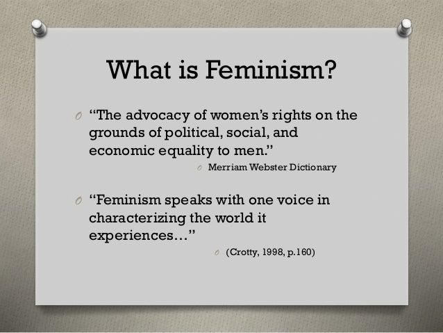https://image.slidesharecdn.com/clinger-wright-20crotty-20-20feminism-140315125757-phpapp01/95/clinger-wright-crotty-feminism-2-638.jpg?cb=1394888352 Definition