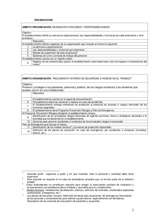 Clinica dental for Sala quimioterapia requisitos