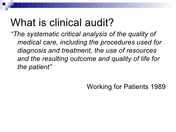 clinical audit presentation, Presentation templates