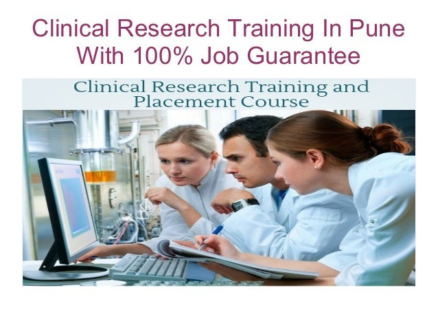 Clinical Research Training In Pune With 100% Job Guarantee