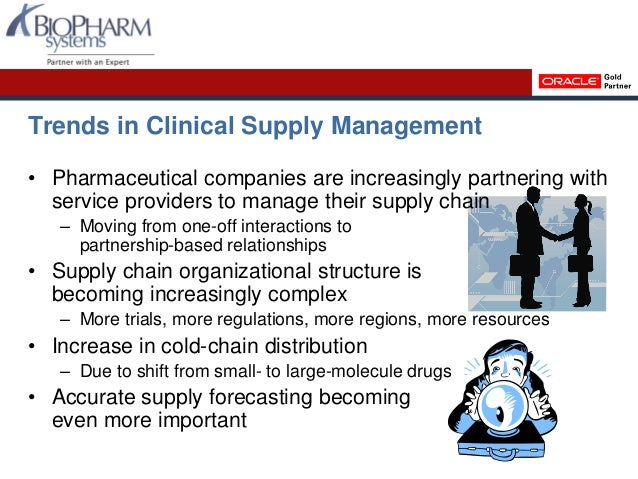 Clinical Supply Management With Siebel Clinical