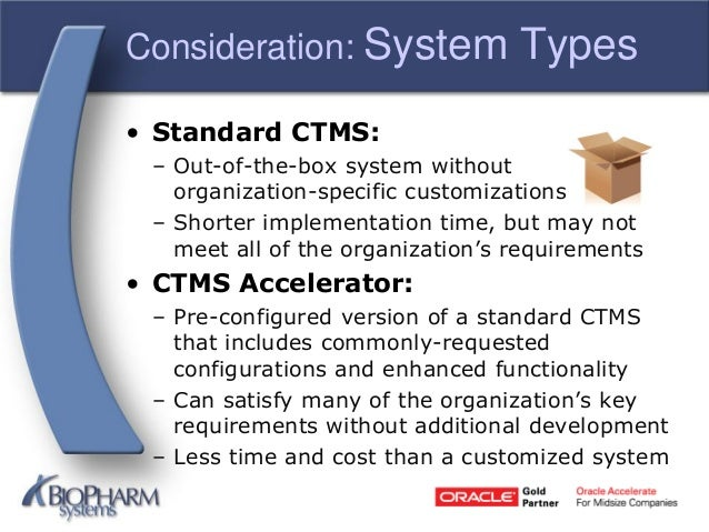 Clinical Trial Management Systems 101