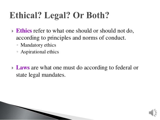 legal and ethical issues of united On dec 31, 2007 arthur r derse published: legal and ethical issues in the united states.