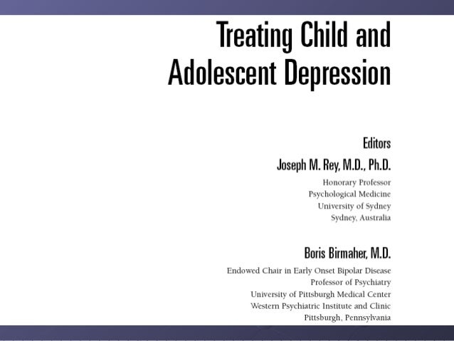 Clinical Assessment of Children and Adolescents with Depression Slide 2