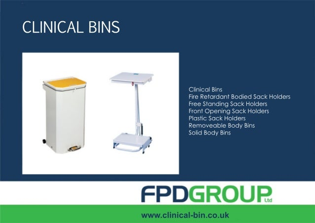 0115 871 8789sales@clinical-bin.co.ukCLINICAL BINSWe supply a range of bins to the healthcare industry all designed and ma...