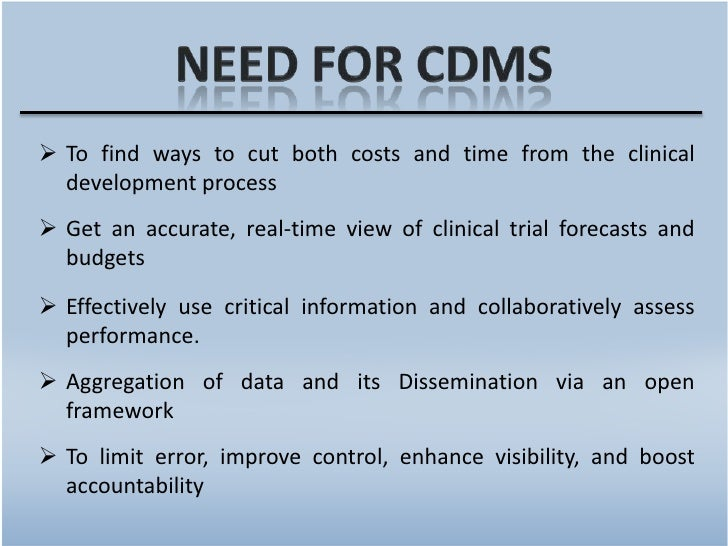 Clinical Data Management