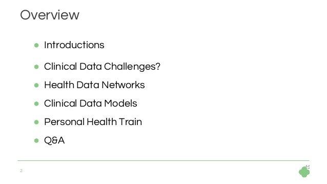 Clinical Data Models - The Hyve - Bio IT World April 2019 Slide 2