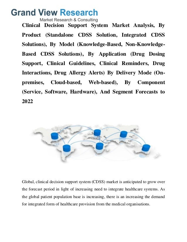 clinical decision support system case study Decision support system over control in the study's case, the number of unsuccessful systems) computerised clinical decision support systems.
