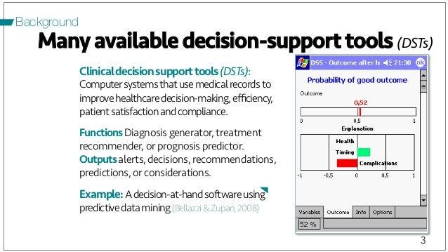 DECISION SUPPORT TOOLS PDF
