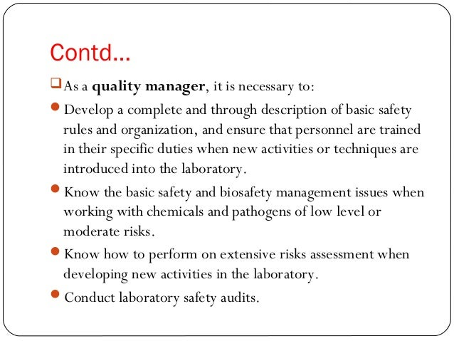 Clinical laboratory total quality management (TQM) system