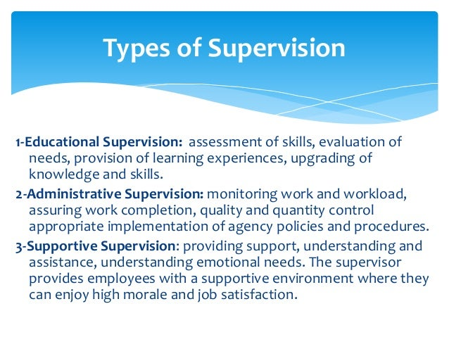supervision and education Services resources  learning modules  preparing for supervision   definition & components  a variety of definitions for clinical supervision exist.