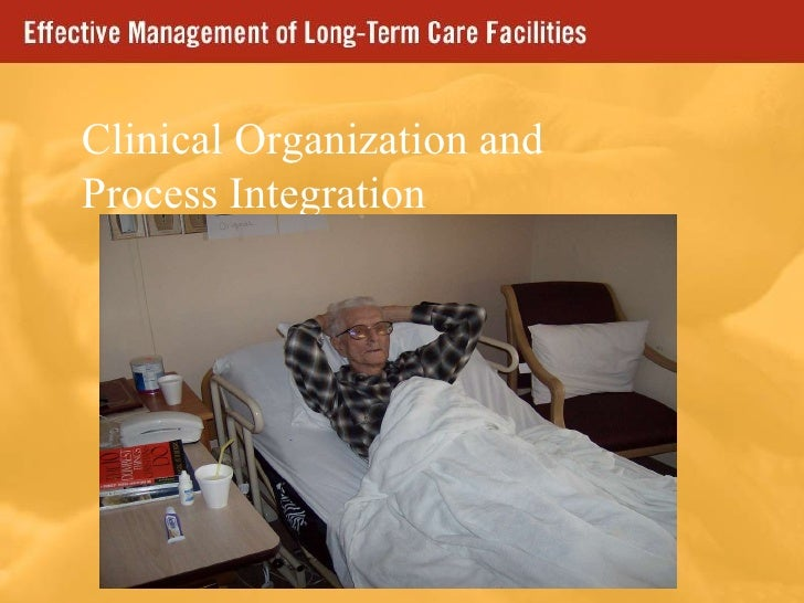 Clinical Organization and Process Integration