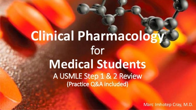Clinical Pharmacology for Medical Students_USMLE Step 1 & 2