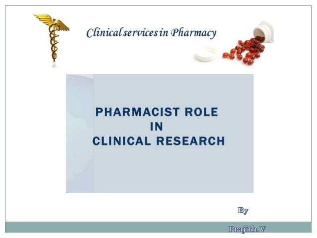 Role of Clinical Pharmacist