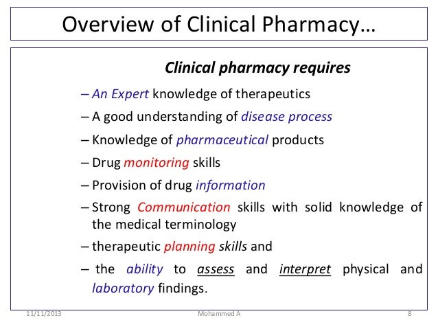 how to become a clinical pharmacist in canada