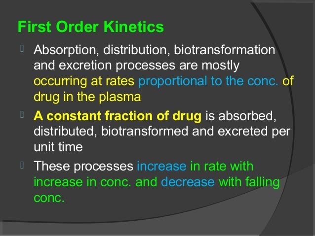 kinetic process of drug absorption understanding The 4 phases of pharmacokinetics • absorption • distribution • metabolism absorption absorption is the process of drug movement from the absorption site across.