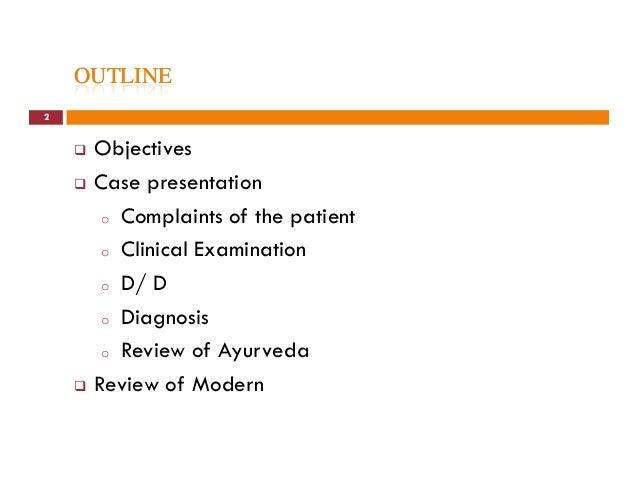 Clinical presentation on Osteoarthritis (Sandhi Gata Vata) Slide 2