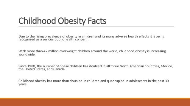 obesity canadian children Rates of obesity among children and teenagers in the us have increased substantially more than in canada since the late 1970s.
